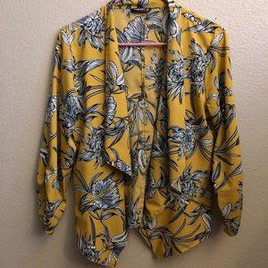 Plus Size Yellow Blazer from Rainbow.